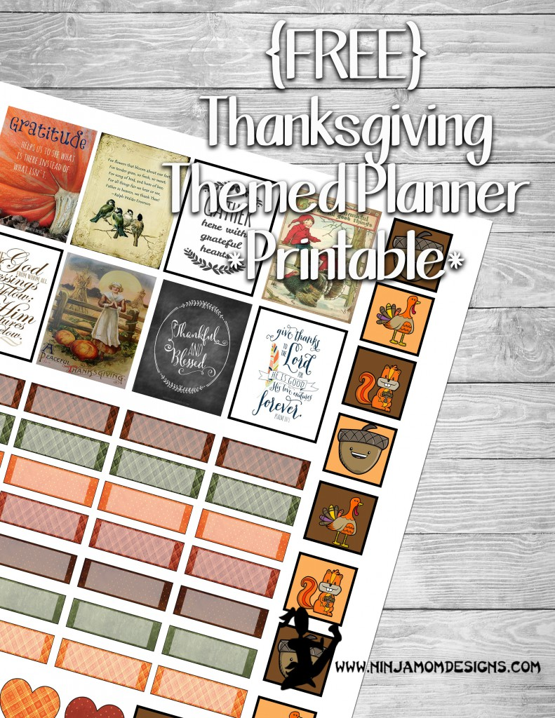 free planner printable – Page 4